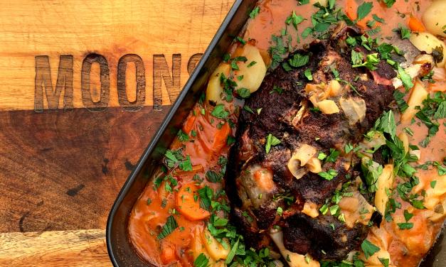 Smoked & Braised Irish Stew